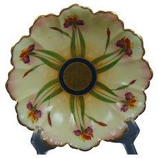 "Pickard Studios ""Iris Conventional"" Design Bowl (Signed ""F. Lind""/c.1898-1930)"