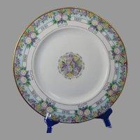 Hutschenreuther Favorite Bavaria Floral Design Plate (c.1909-1930's) - Keramic Studio Design