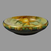 "Rosenthal Donatello Bavaria Fruit Design Centerpiece Bowl (Signed ""Stiles""/c.1907-1930)"