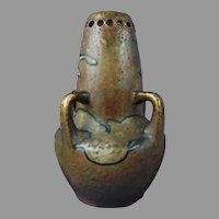 Amphora Austria Enameled Bird/Seagull Design Vase (c.1890-1905)