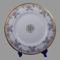 Hutschenreuther Favorite Bavaria Floral Design Plate (c.1912-1930's) - Keramic Studio Design