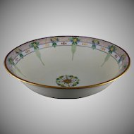 Hutschenreuther Selb Bavaria Floral Design Bowl (Signed/c.1913-1920) - Keramic Studio Design