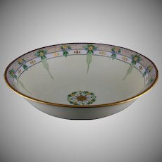 Hutschenreuther Selb Bavaria Floral Design Bowl (Signed/c.1913-1920) - Keramic Studio Design