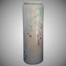 Willets Belleek (American) Sweet Pea Motif Vase (c.1880-1904)