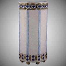 Ernst Wahliss Amphora Austria Art Deco Footed Vase (c.1899-1914)