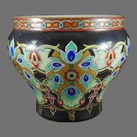 Fraureuther Germany Persian Design Vase/Bowl (c.1898-1935)