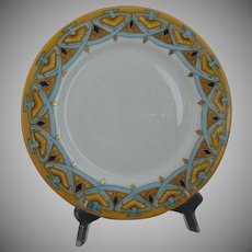 C. Ahrenfeldt Limoges Art Deco Design Plate (c.1909-1930) - Keramic Studio Design