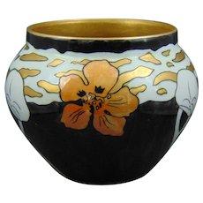 Tressemann & Vogt (T&V) Limoges Nasturtium Design Jardinière/Vase (c.1905-1930)