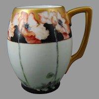 Rosenthal Bavaria Poppy Design Tankard/Mug (c.1907-1930)
