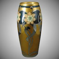 "Pickard Studios ""Aura Mosaic"" Design Vase (Signed ""Hartman""/c.1905-1910)"