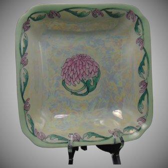 """Hutschenreuther Bavaria Lustre & Floral Motif Bowl (Signed """"V.K.N.""""/Dated 1928)"""