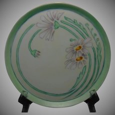 Pfeiffer & Lowenstein Austria Daisy Motif Plate/Tray (c.1914-1918) - Keramic Studio Design
