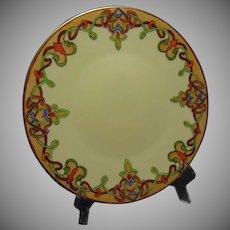 JP Limoges Art Nouveau Design Plate (c.1905-1930)