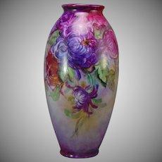 Lenox Belleek (American) Spider Mum Design Vase (c.1906-1924)
