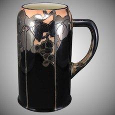 Ceramic Arts Company (CAC) Belleek (American) Grape Design Tankard/Mug (c.1903-1930) - Keramic Studio Design