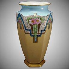 Bernardaud & Co. (B&Co.) Limoges Floral Design Vase (c.1900-1920)