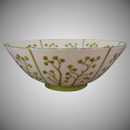 "Lenox Belleek (American) Organic Design Bowl (Signed ""CHM""/c.1906-1924)"
