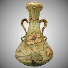 Ernst Wahliss Amphora Austria Poppy Design Vase (c.1900-1918)