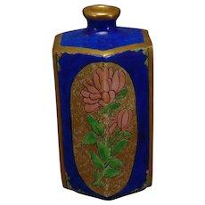 American Satsuma Floral Design Vase (c.1910-1920)