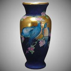 Carl Tielsch (CT) Altwasser Silesia Swallow/Bird Motif Vase (c.1912-1918)