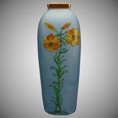 Fischer & Mieg Pirkenhammer Austria Floral Design Vase (c.1890-1918)