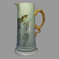 Rosenthal Selb Bavaria Bird Motif Pitcher/Ewer (c.1914-1930) - Keramic Studio Design