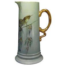 Rosenthal Selb Bavaria Bird Motif Pitcher/Ewer (c.1914-1930) - Keramic Studio Design