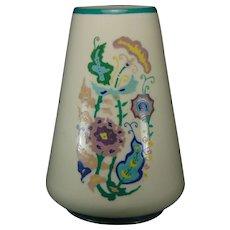Lenox Belleek (American) Enameled Floral Design Vase (c.1919-1930) _ Keramic Studio Design