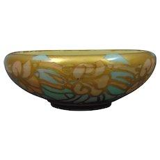 Willets Belleek (American) Abstract Floral Lustre Design Bowl (c.1890-1930's)