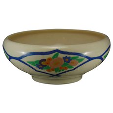 "American Satsuma Floral Design Bowl (Signed ""Norine Rose""/Dated 1920)"
