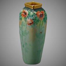 Pirkenhammer Austria Poppy Design Vase (c.1890-1918)