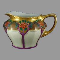 JP Limoges Fruit Tree Design Cider/Lemonade Pitcher (c.1908-1930)