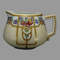 Bavaria Porcelain Fruit Design Cider/Lemonade Pitcher (c.1910-1930)