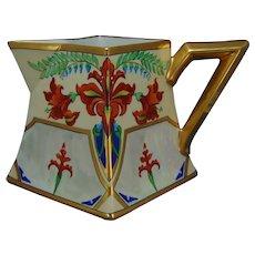 Julius H. Brauer Studio Chicago D&Co. Limoges Floral Design Pitcher (c.1904-1905)