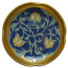 American Satsuma Enameled Floral Design Bowl (c.1918-1930)