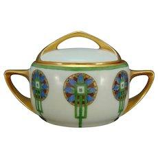 Rosenthal Bavaria Art Deco Design Sugar Bowl/Trinket Dish (c.1910-1930)