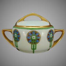 Rosenthal Bavaria Art Deco Design Sugar Bowl/Trinket Dish (c.1910-1930)