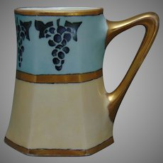 P&P Limoges Grape Design Tankard (c.1903-1925)