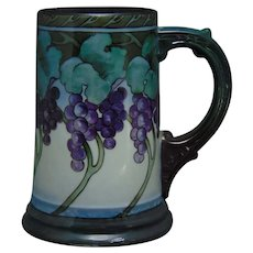 WG&Co. Limoges Grape Motif Tankard/Mug (c.1910-1930)