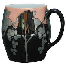 MZ Austria Grape Design Tankard/Mug (c.1903-1930) - Keramic Studio Design