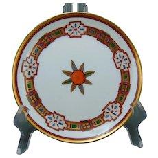 "Pickard Studios Art Deco ""Navajo Design"" Plate (c.1905-1910)"