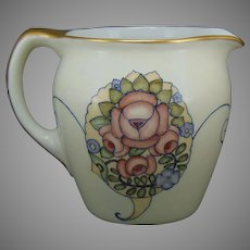 JP Limoges Floral Design Pitcher (c.1920-1940)