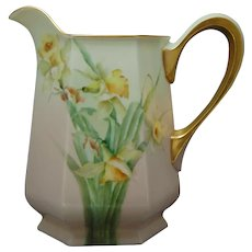 Lenox Belleek (American) Daffodil/Jonquil Pitcher (c.1906-1924)