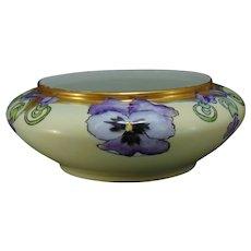 O&EG Austria Pansy Design Planter/Bowl (c.1910-1930)
