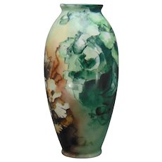 Ceramic Art Company (CAC) Belleek (American) Floral Motif Vase (c.1899-1906)