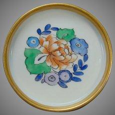 Epiag Czechoslovakia Floral Design Trinket Dish (c.1918-1936)