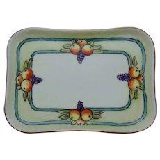 AKD Limoges Fruit Design Trinket Dish/Tray (c.1910-1930)