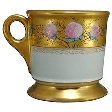 """Stouffer Studios Clover Design Mug (Signed """"W. Stens""""/c.1906-1914)"""