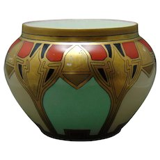 D&Co. Limoges Art Deco Design Jardiniere/Vase (c.1910-1930)