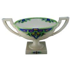 Lenox Belleek (American) Enameled Pedestal Bowl (c.1906-1924)